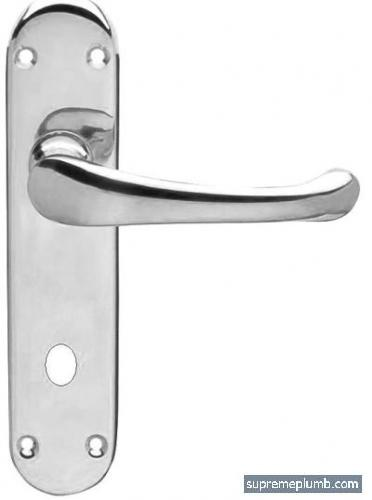 Hilton Lever Bathroom Chrome Plated